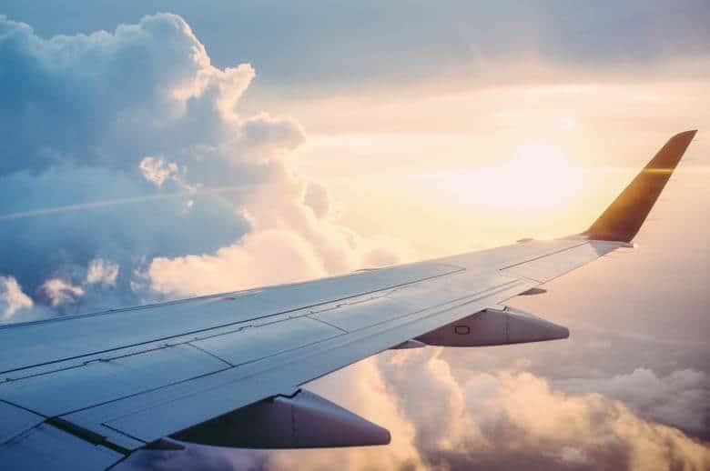 fräsch på långdistansflyg