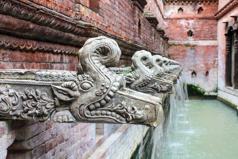 kathmandu fontän