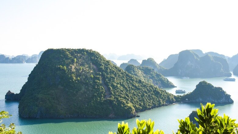 Halong Bay turtle island