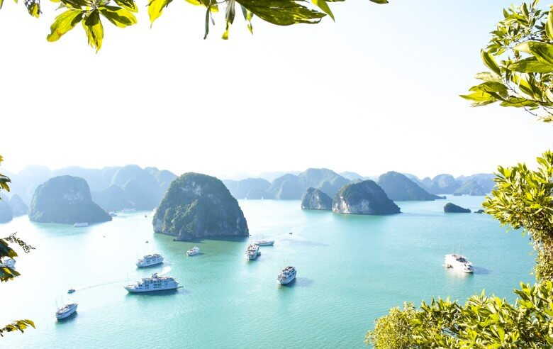 Halong Bay viewpoint
