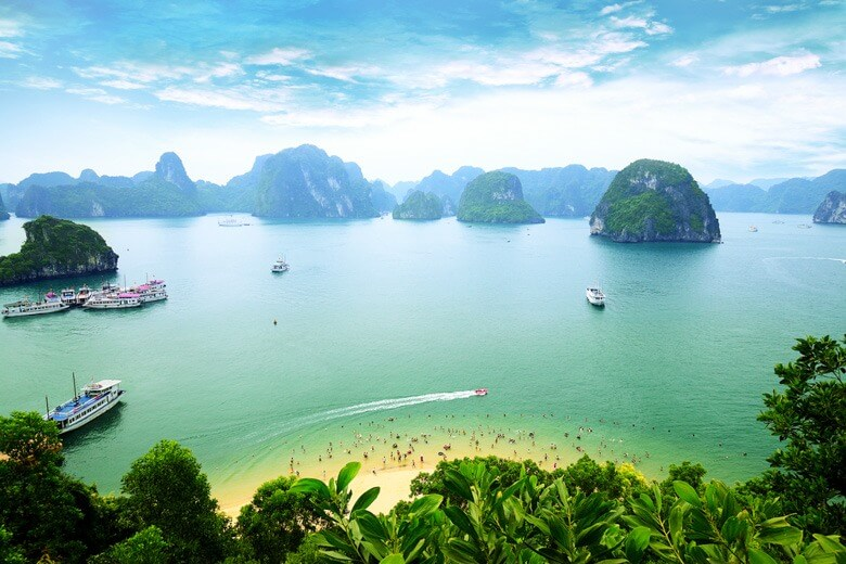 Halong Bay inspiration