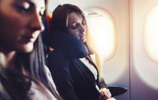 sleep on flights