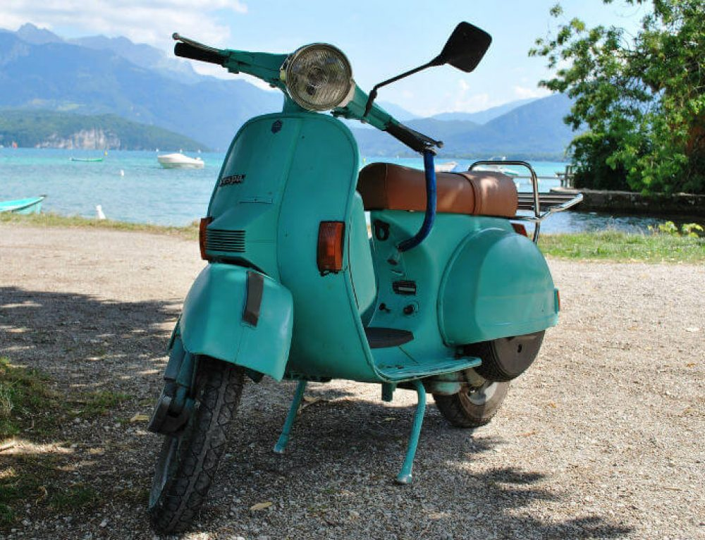 Why I love riding a scooter