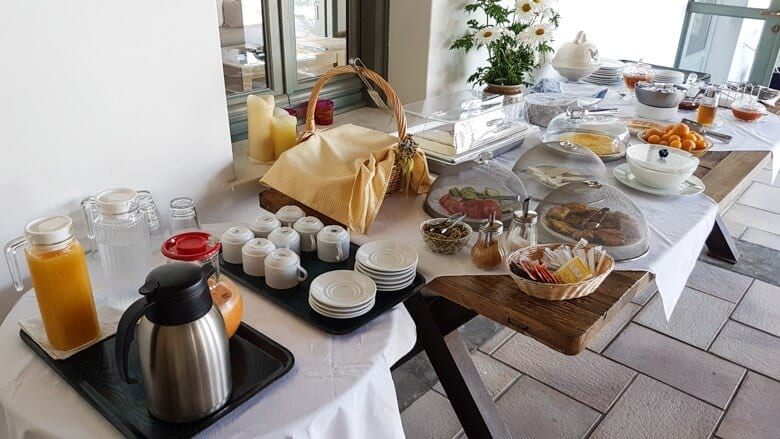 breakfast dioni hotel