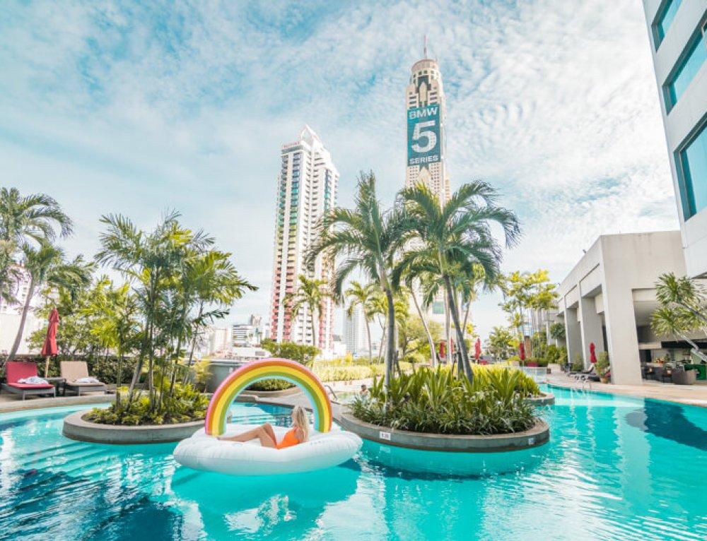 Hotel Review: Central & Relaxing Amari Watergate Bangkok