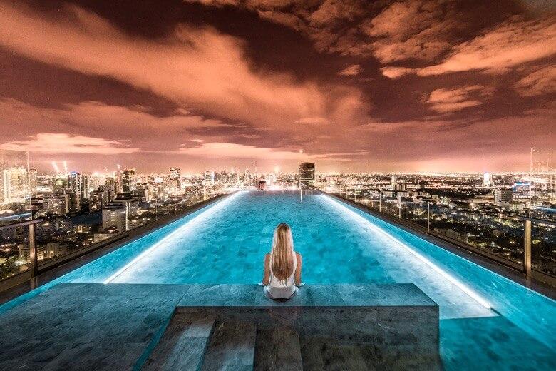 Bangkok infinity pool
