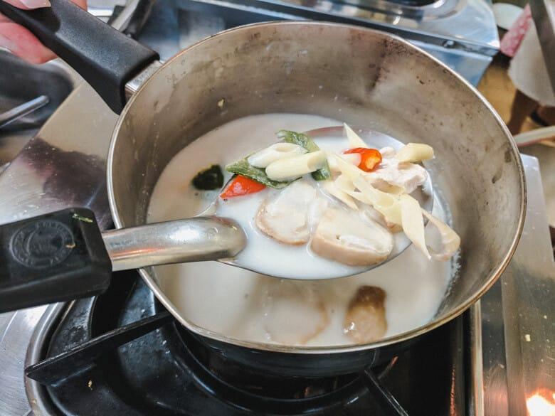 Maliwan Cooking Class Soup