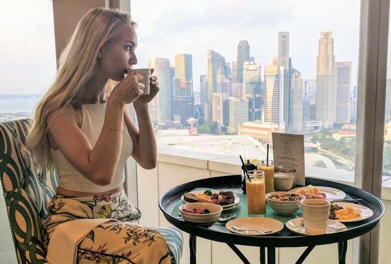 pan pacific breakfast lounge