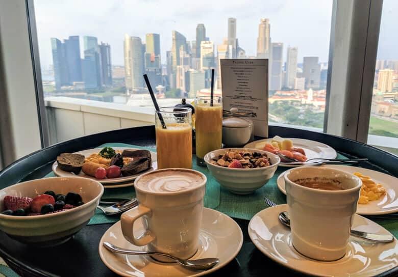 pan pacific breakfast view