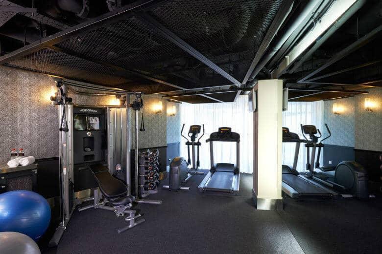 scarlet hotel gym