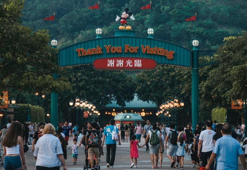 HK disneyland park