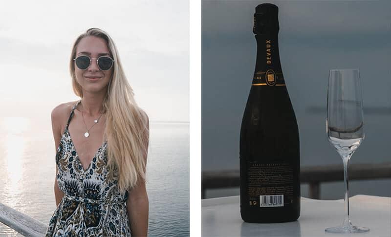champange cruise