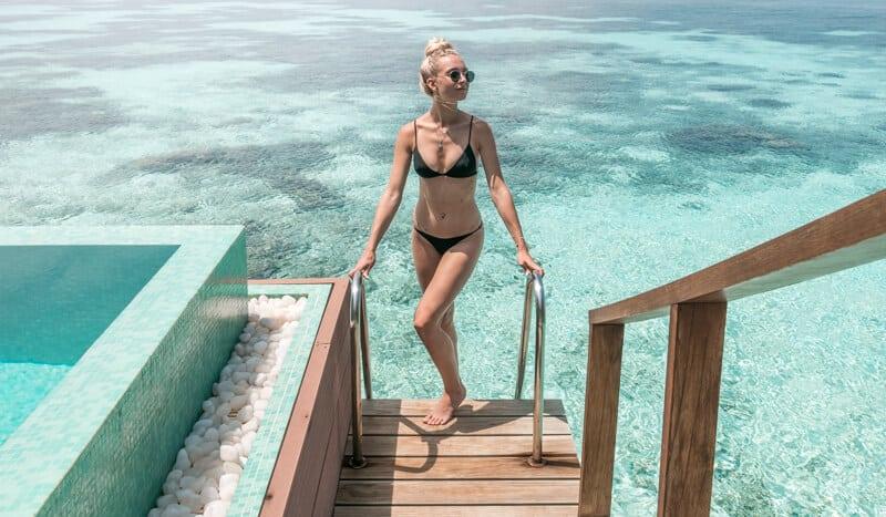 water villa ocean