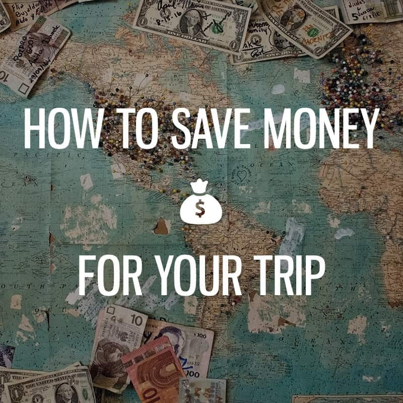 how to save money for travels