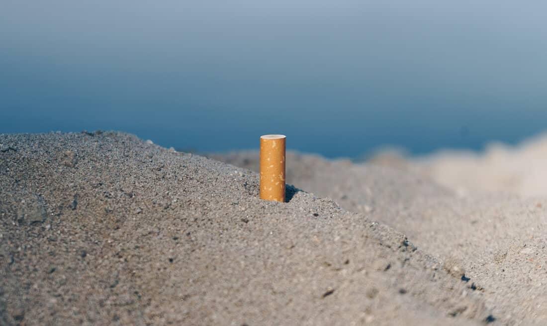 cigarette beach