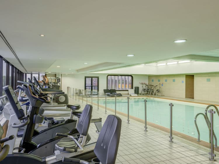 gym and spa