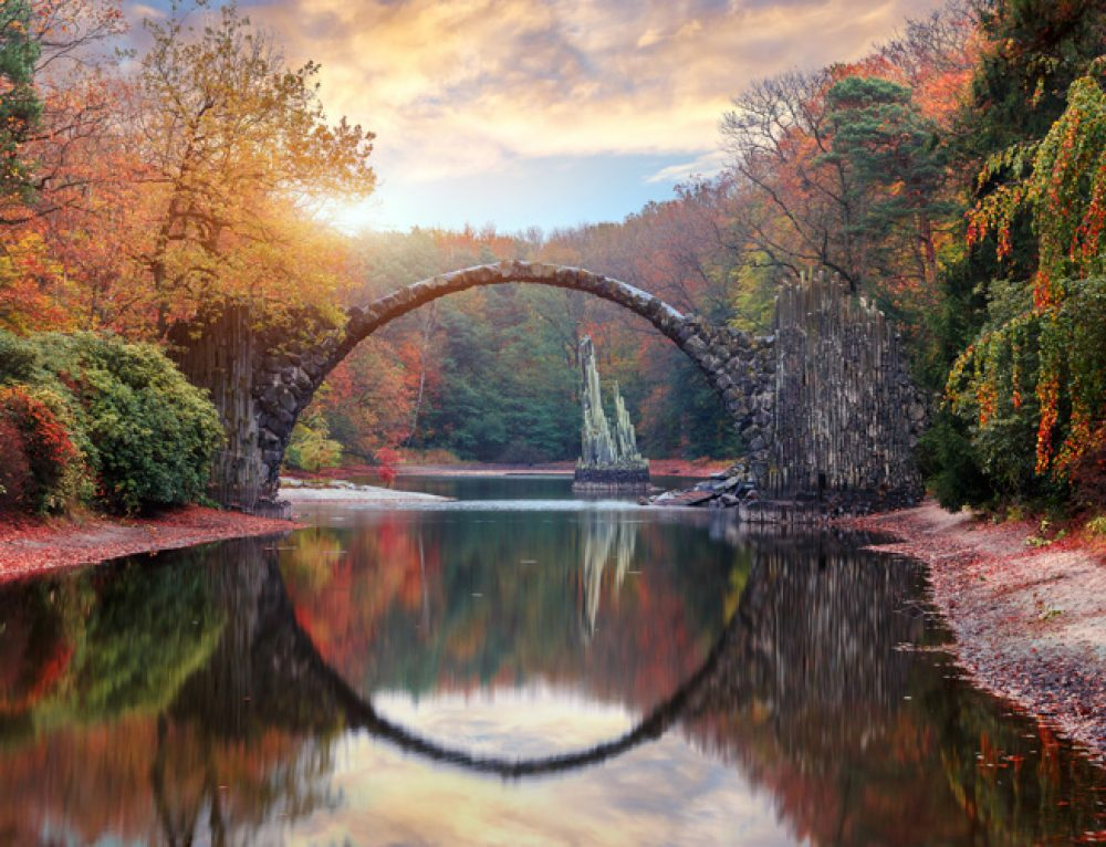 Rakotzbrücke: The Devil's Bridge in Germany