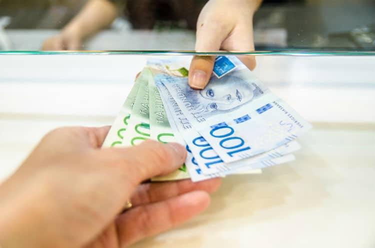 växla pengar