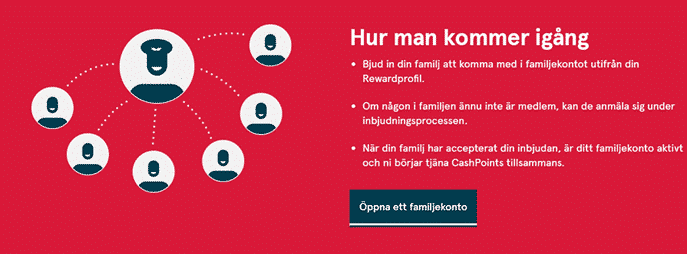 familjekonto norwegian