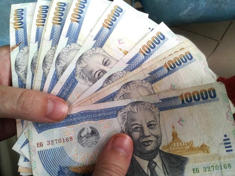 valuta i Thailand