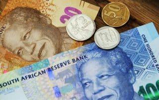 valuta sydafrika