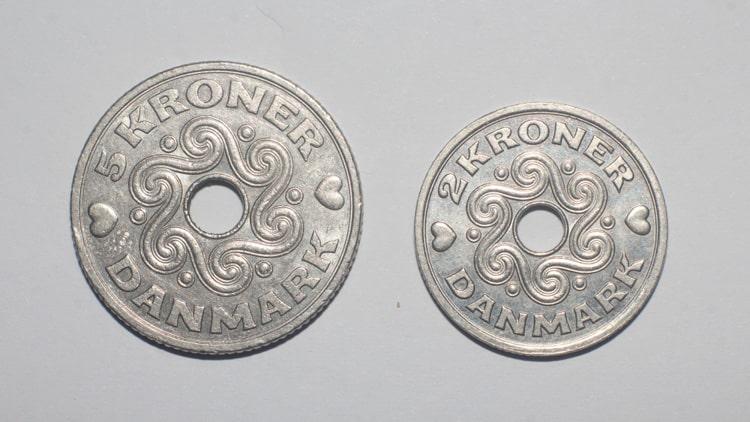 danmark mynt