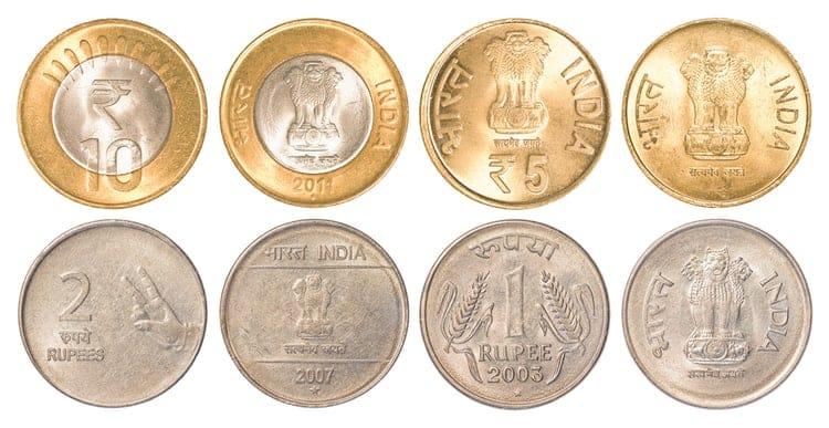 valuta i indien