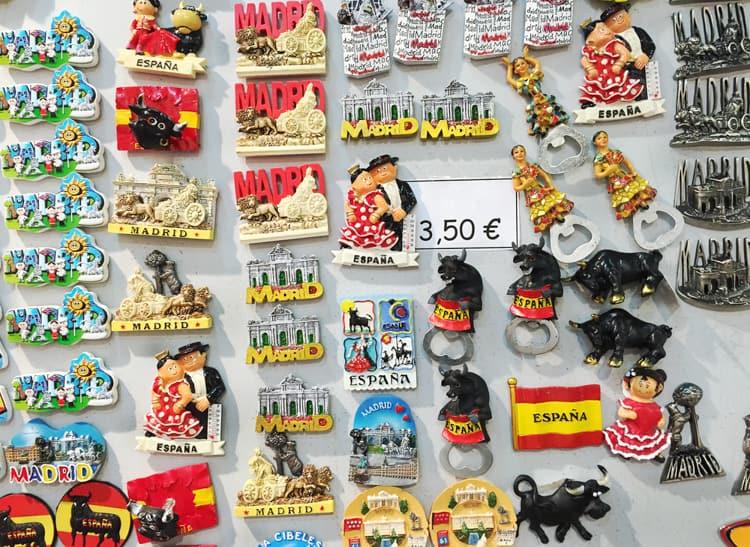 madrid souvenirs