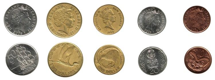 valuta på nya zeeland