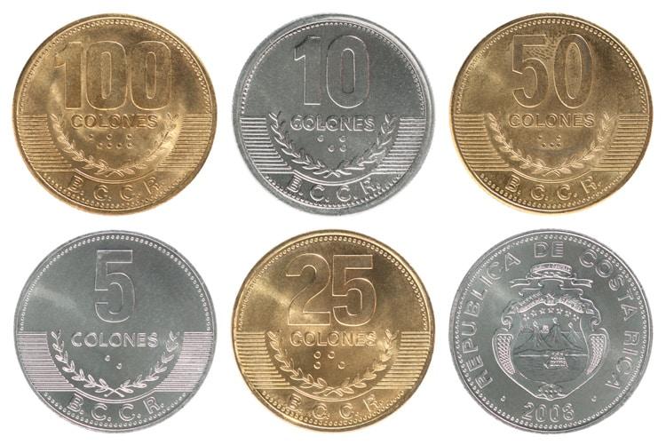 valuta i Costa Rica