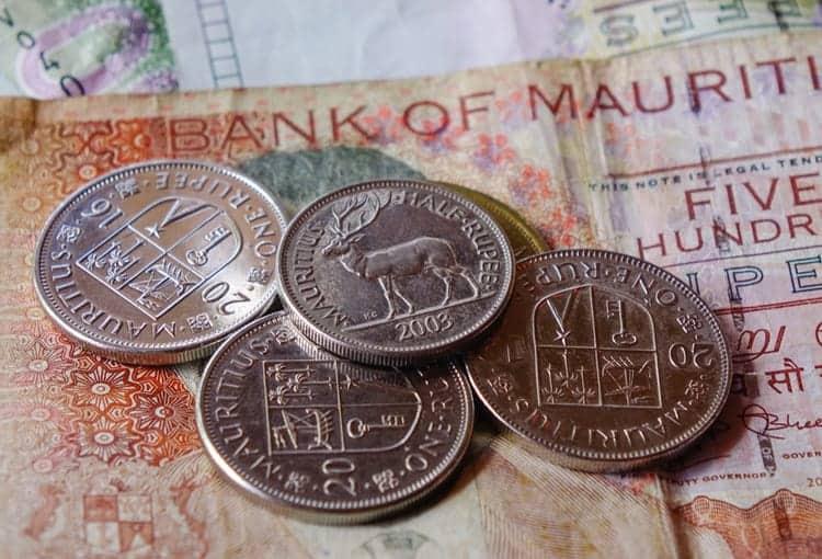 valuta på Mauritius