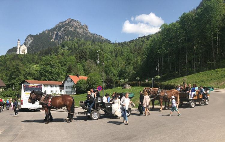 häst och vagn