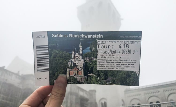 Neuschwanstein biljetter