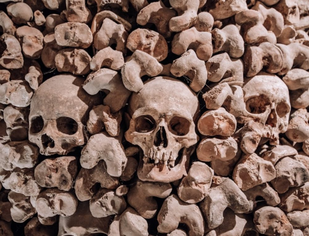 Visiting the Brno Ossuary in Czech Republic