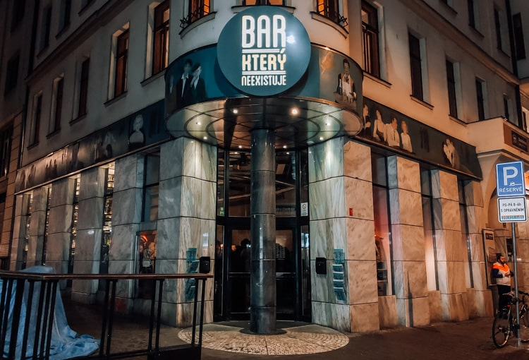 the bar that doesn't exist