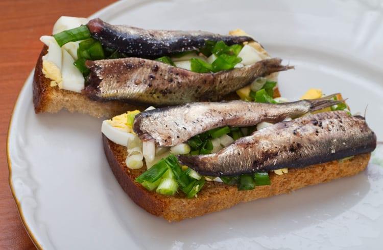 estnisk smörgås