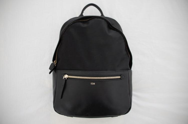 ISM Backpack outside