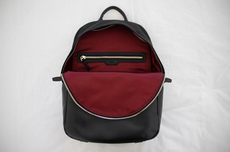 ISM backpack inside