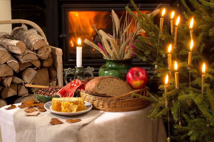 christmas food in latvia