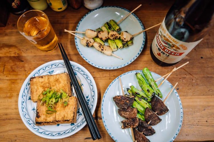 Omoide Yokocho food