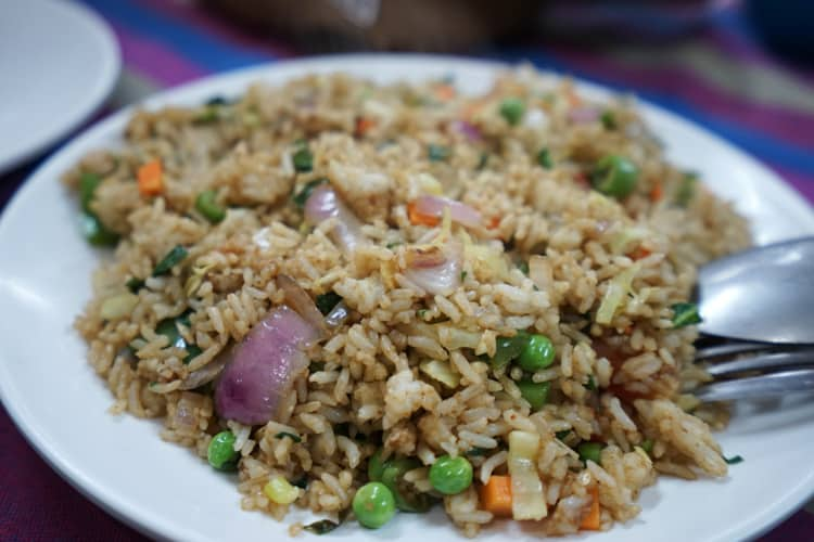 Pulao nepalese fried rice