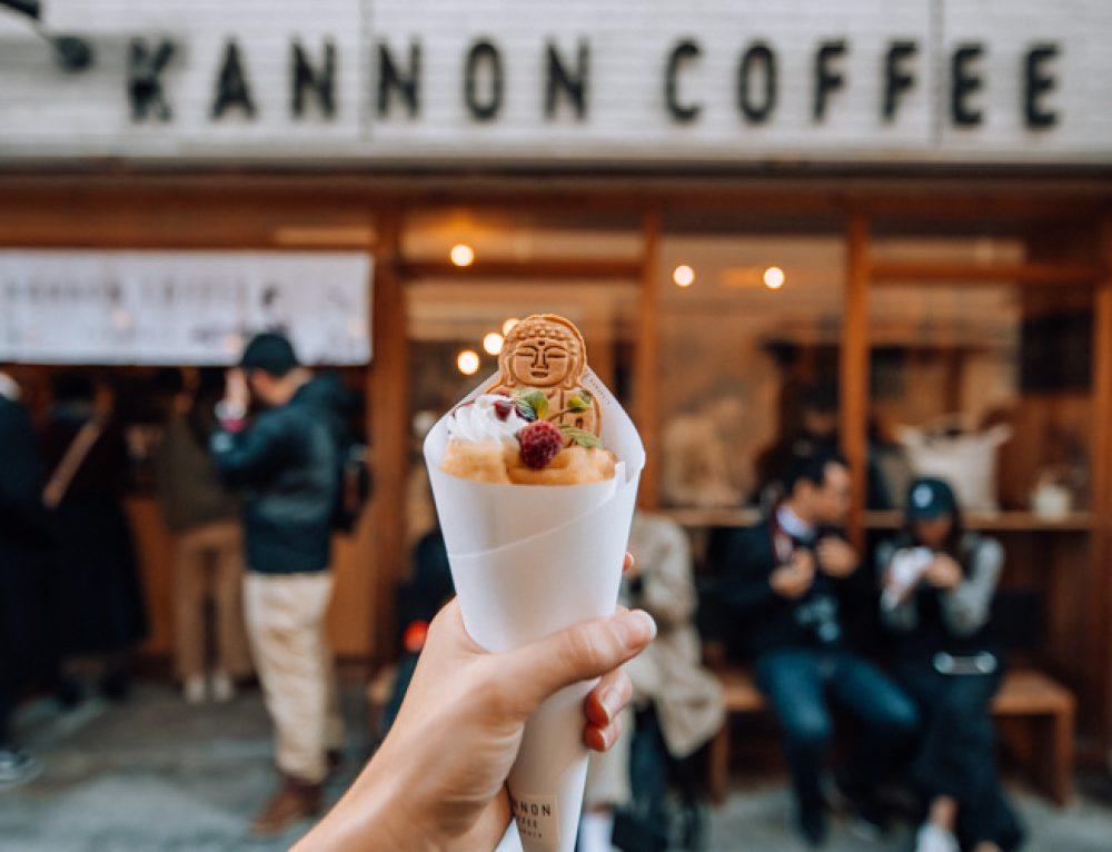 Visiting Kannon Coffee in Kamakura