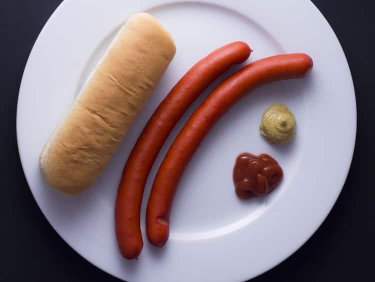 danish sausage