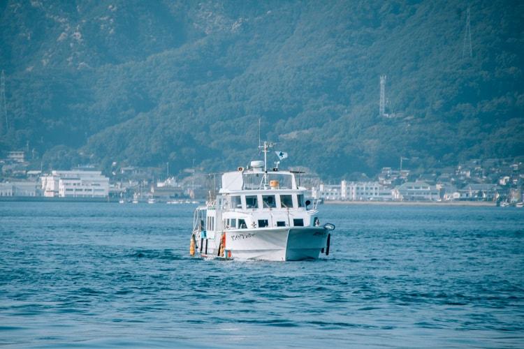ferry to Okunoshima