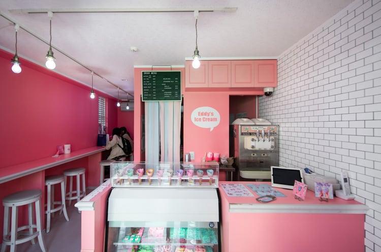 inside eddy's ice cream