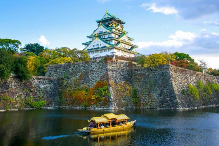 osaka castle boat tour