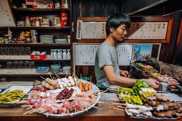 restaurant in Omoide Yokocho