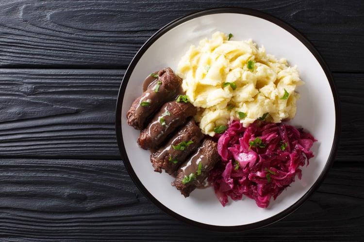 mat från tyskland