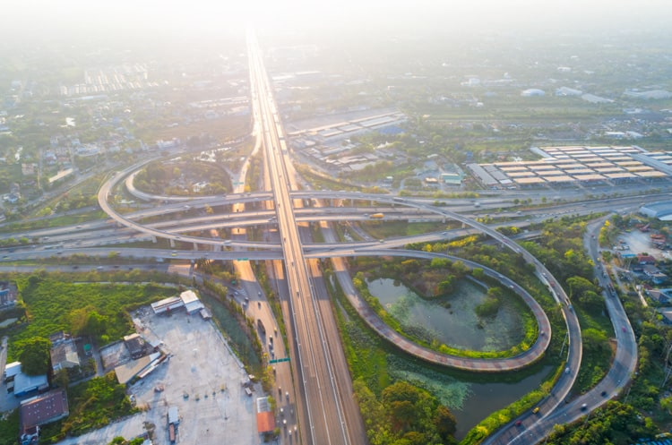 Bang Pakong Expressway bangkok