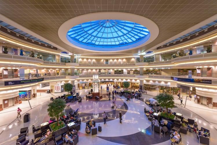 världens största flygplats